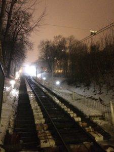 Kijów, stolica, Ukraina, zwiedzanie, podróże, razem, parka, wczasy, urlop, weekend, funicular, kolejka