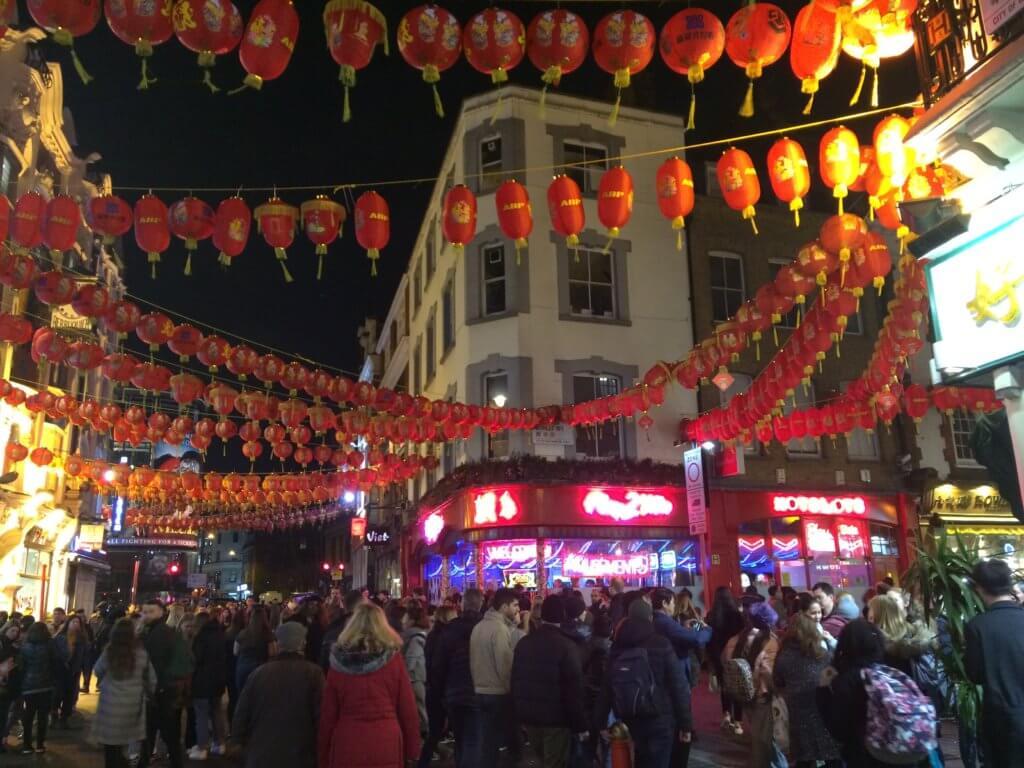 Londyn, weekend, zwiedzanie, miasto, stolica, Wielka Brytania, turysta, jedzenie, restauracje, China Town, lampiony
