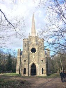 Londyn, weekend, zwiedzanie, miasto, stolica, Wielka Brytania, turysta, przyroda, cmentarz, spacer, kościół, zabytek