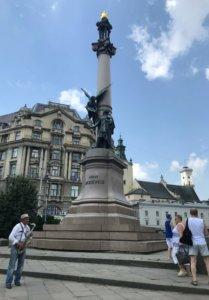 Lwów, zwiedzanie, miejsca, Ukraina, turystyka, wycieczka, pomnik, Mickiewicz, Stare Miasto, Rynek