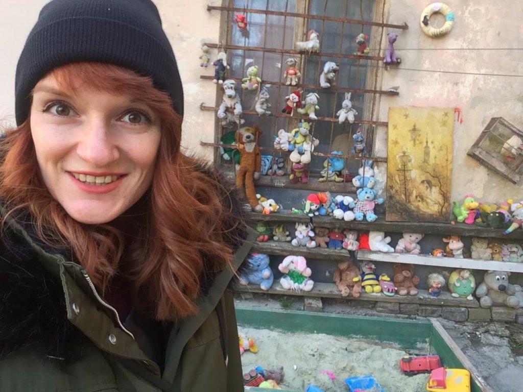Lwów, zwiedzanie, miejsca, Ukraina, turystyka, wycieczka, Stare Miasto, Rynek, fresk, brama, antyk