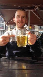Lwów, miasto, Ukraina, zwiedzanie, wakacje, weekend, podróże, restauracje, klimat, odpoczynek, piwo, jedzenie, budynek, sala, gastronomia, piwo, para, alkohol, zabawa