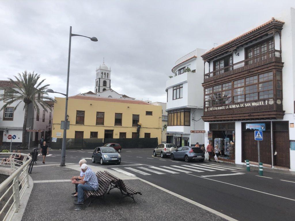 miasteczko, klimat, ludzie, kościół, budynki, garachico