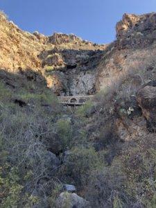 ścieżka, dolina, wąwóz, trasa, szlak, most