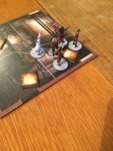 gra planszowa z figurkami
