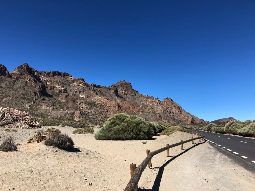 pustynia, góry, droga
